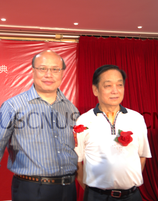 Colin Wu with Han Meilin